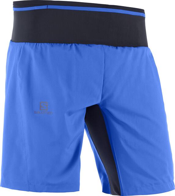 Salomon Trail Runner Twinskin Shorts Herre nautical blue